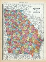 Page 074 - Georgia, World Atlas 1911c from Minnesota State and County Survey Atlas